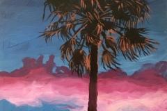 Palmiers croquis 8